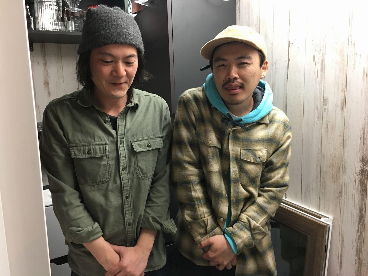 共同オーナーの柳沢さん、山岡さん