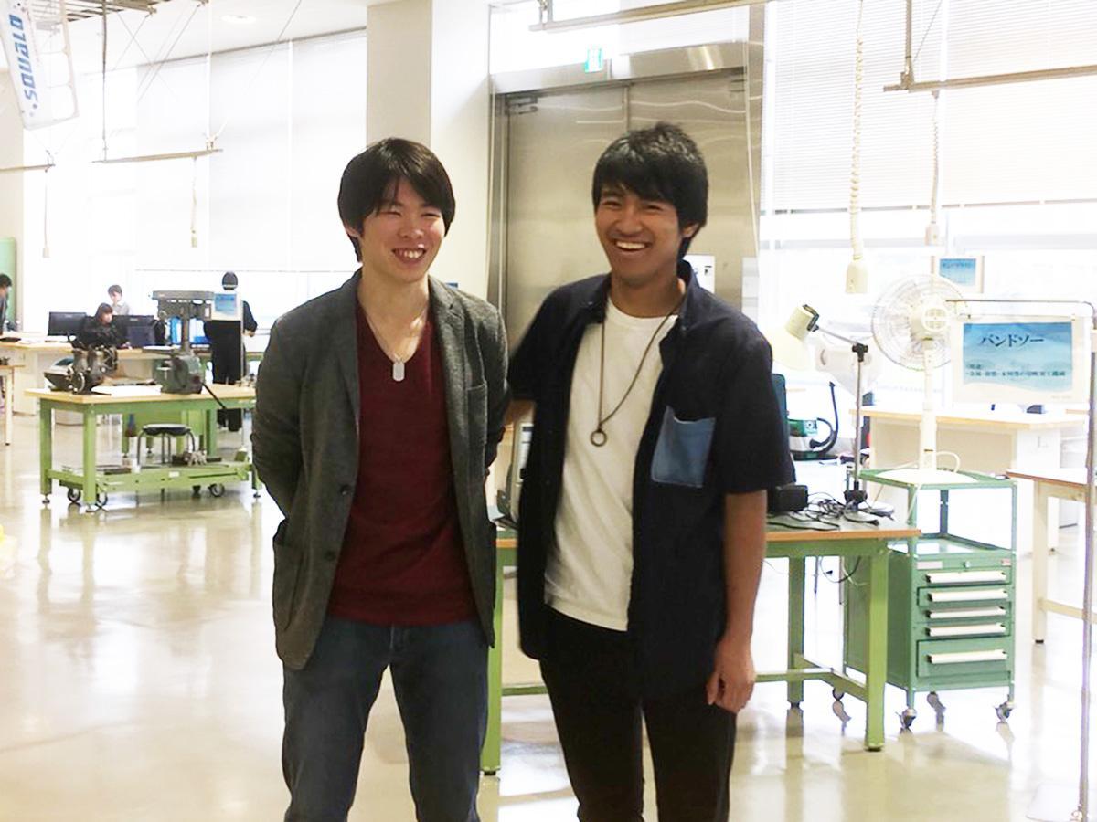 熊倉さん(左)と銅坂さん(右)