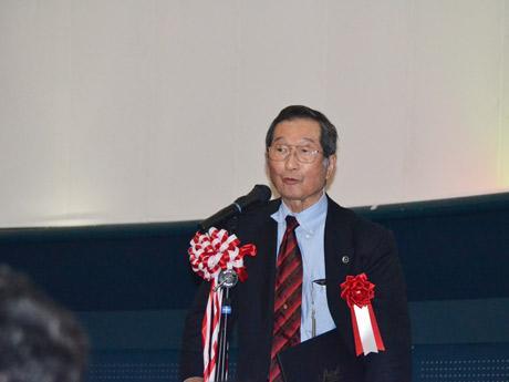 日本スペースガード協会理事長の白井正明さん