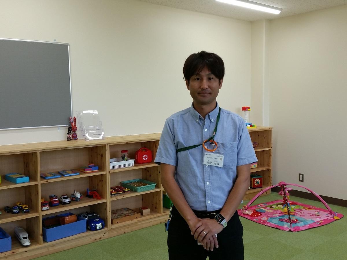 須賀さん遊戯室にて