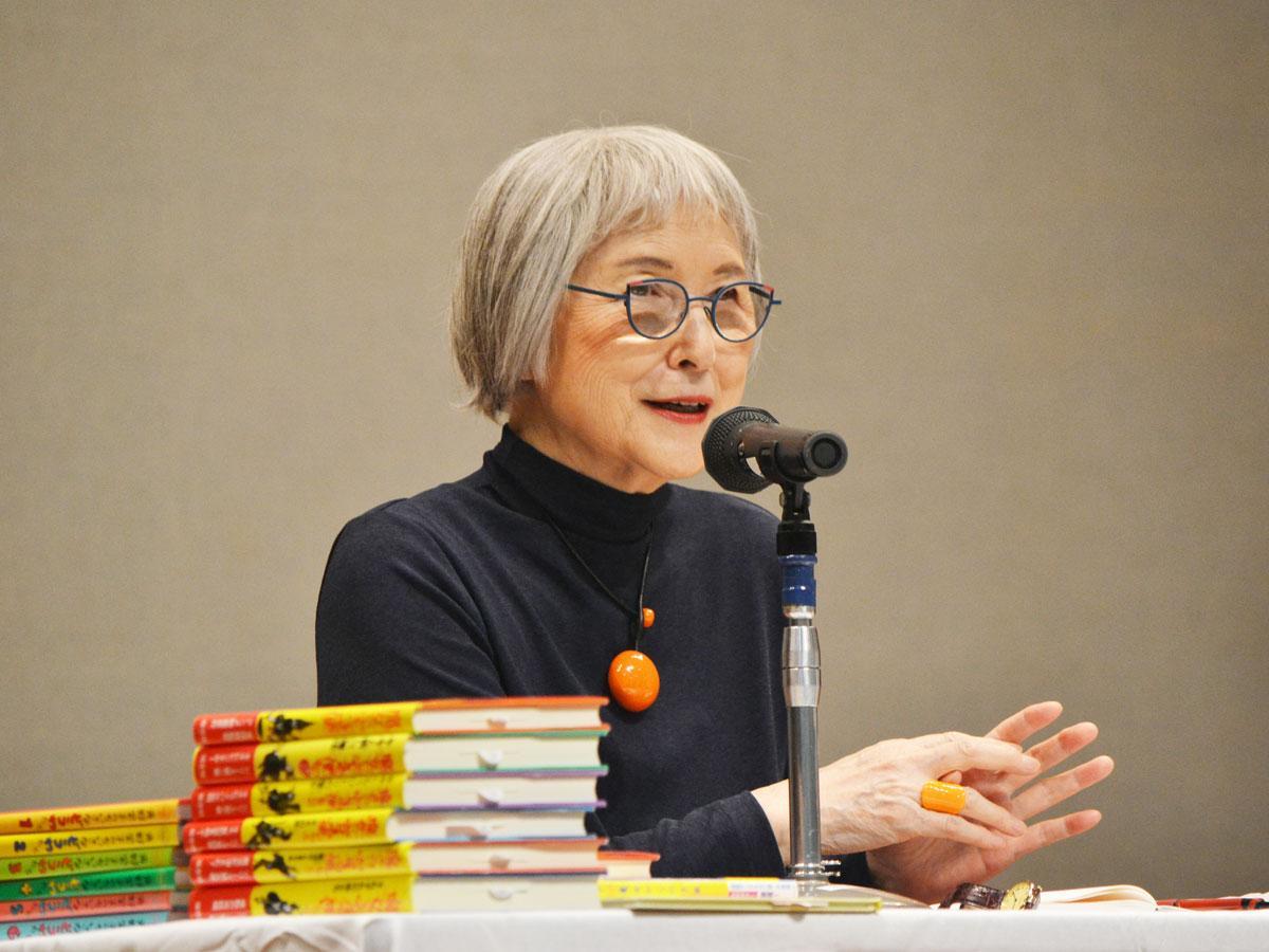角野栄子さん