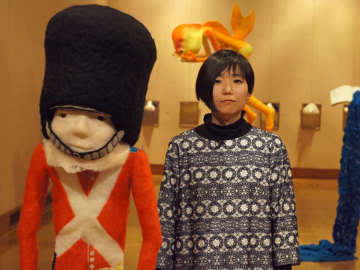 アンデルセン童話「すずの兵隊」をモチーフにした作品と大石さん