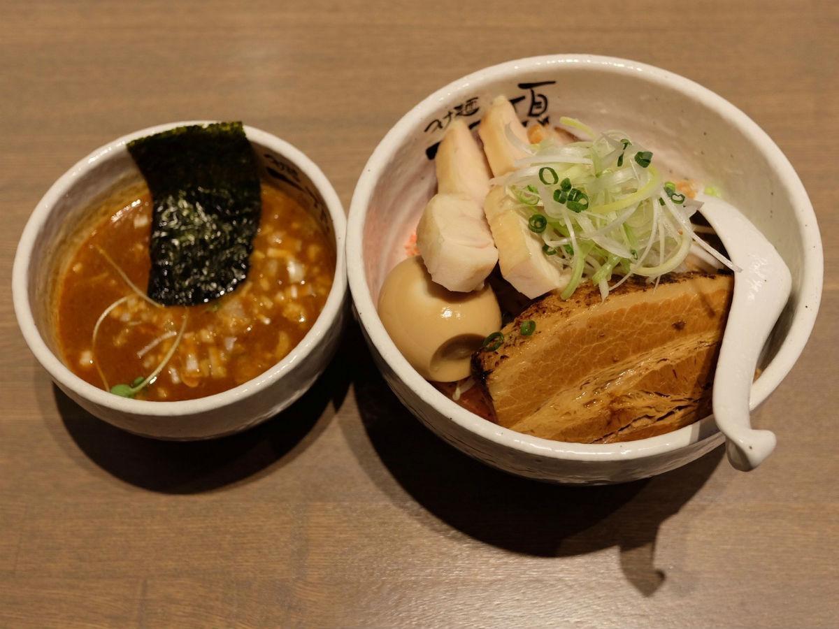 特製エビつけ麺
