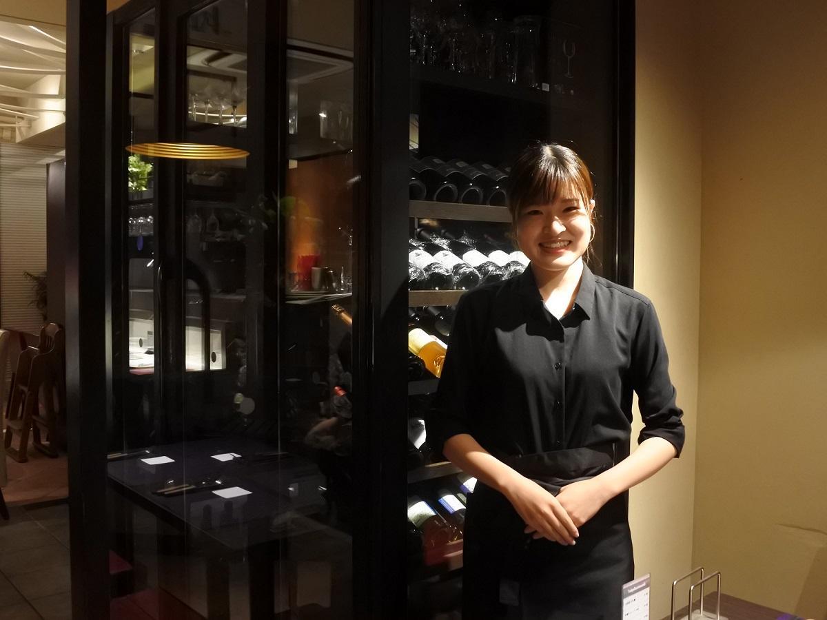 スタッフの田中萌子さん