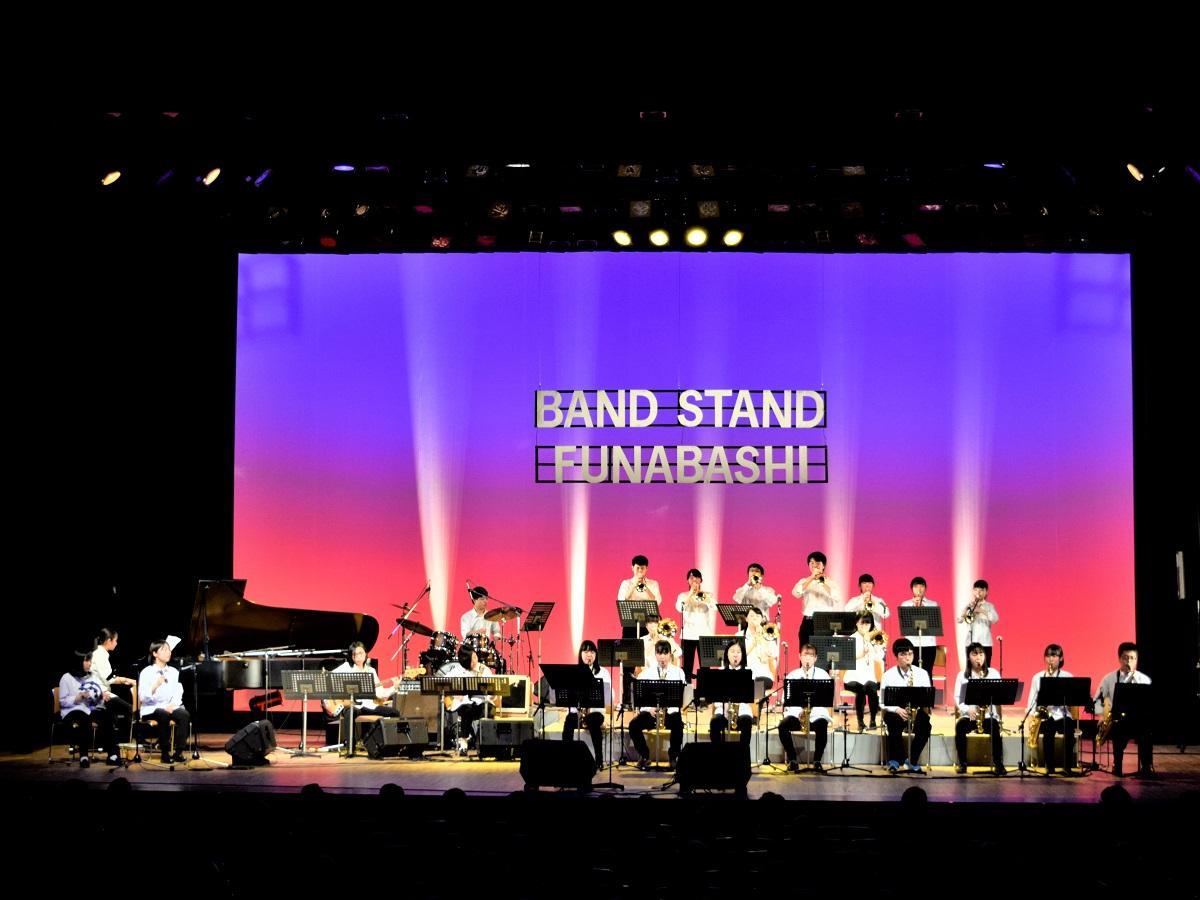 高校生と大学生有志で結成した「船橋ヤング・ジャズバンド」