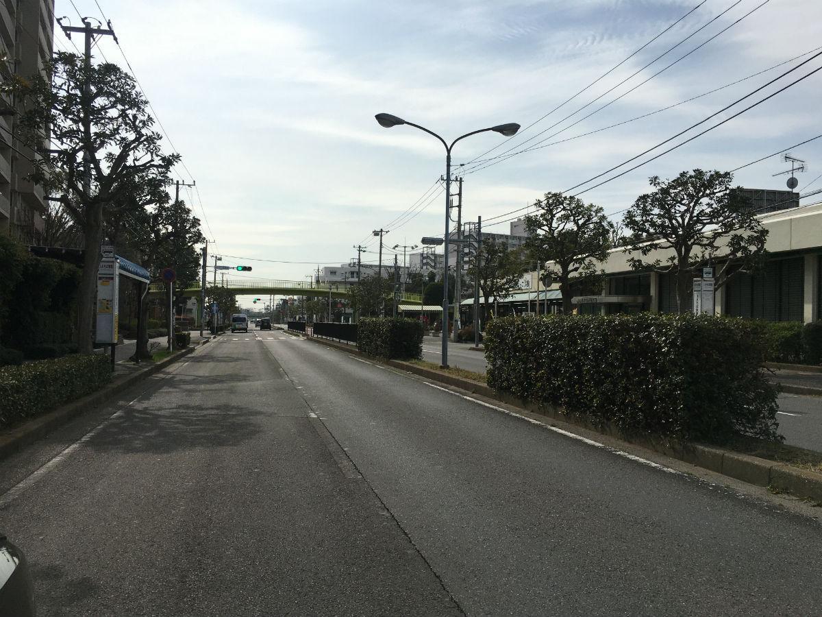 行田公園近くのルート