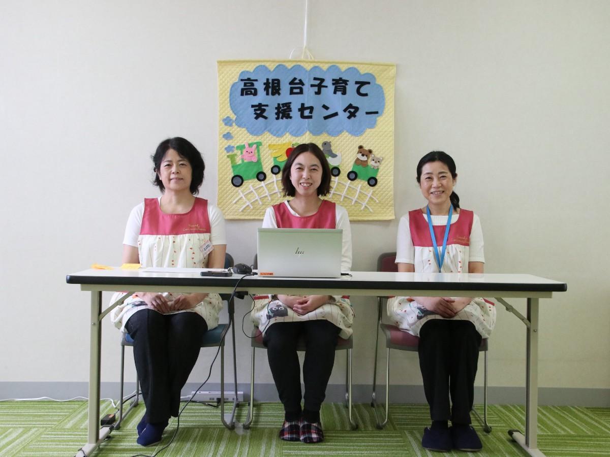 左から小幡恵子さん、太田美穂子さん、山本恵理子さん