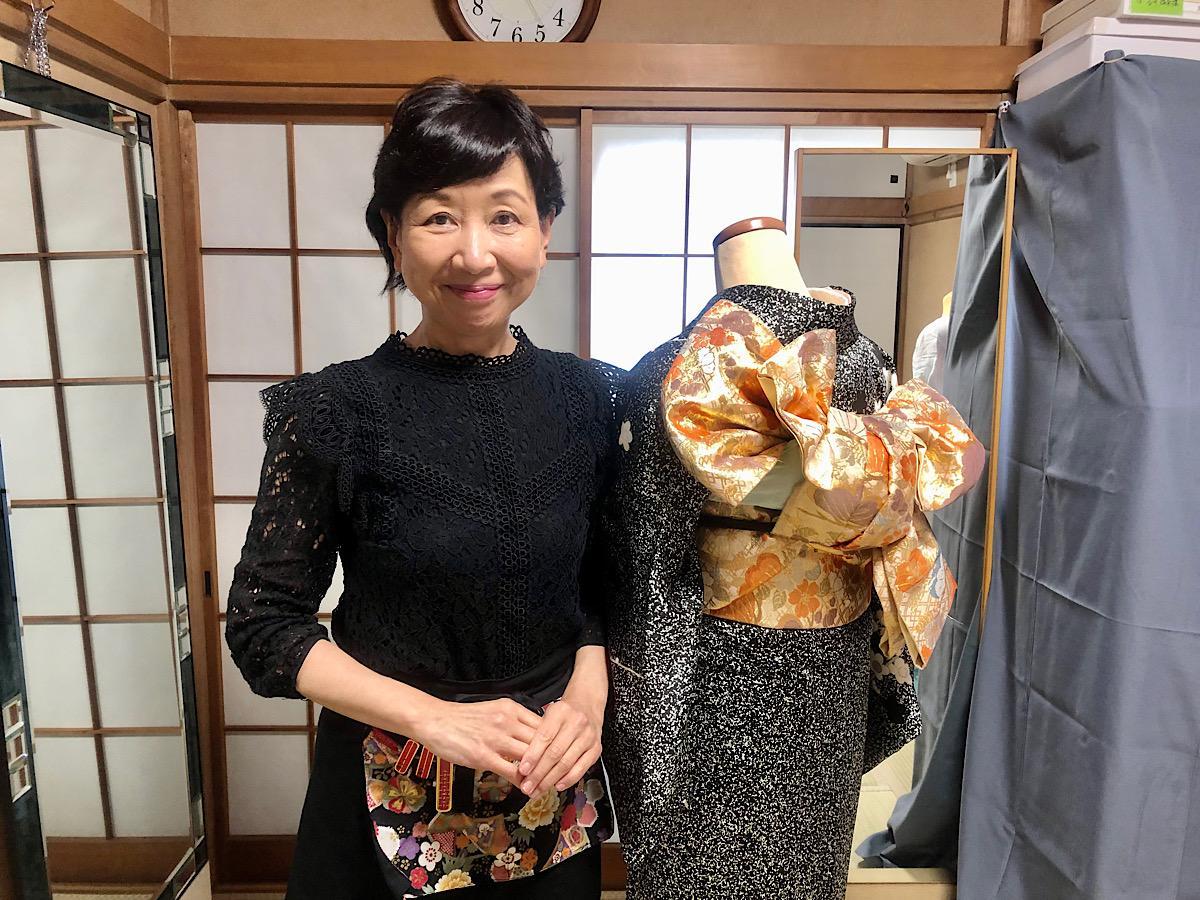 「結衣」店主の山田美枝子さん。「事前に電話で確認してもらえたら」と話す