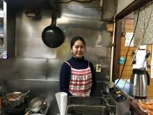 船橋市場関連棟の定食屋「花のや」再開 22歳店主が先代おかみの後を継ぎ