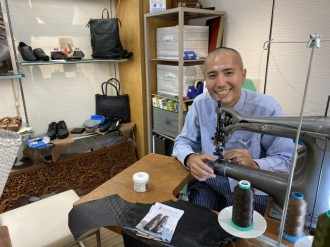 船橋の革製品専門店「二天一流総本舗」が東武百貨店に常設店舗