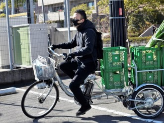 船橋産の採れたて野菜を配送「船橋野菜」 連携農家の野菜を自転車リヤカーで配達
