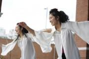 京都の姉妹タップデュオ、伏見で熊本地震復興支援チャリティーライブ