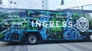 京都・長岡京で周遊観光事業始まる オンラインゲーム「イングレス」バスも運行