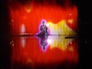 京都・長岡天満宮の池で細川ガラシャの短編ムービー上映 長岡京市のアーティスト集団が制作