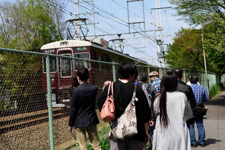 新京阪山科線分岐の痕跡が残る阪急京都線・西向日駅