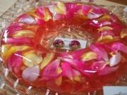 伏見のバラ園でレジンアクセ講座 小粒のバラでピアスやイヤリング