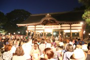 伏見・藤森神社で盆踊りフェス 住民が作詞・作曲の「藤森音頭」も