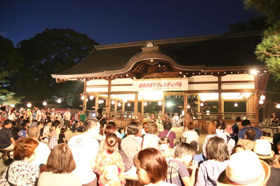 昨年の藤森盆踊りフェスティバルの様子