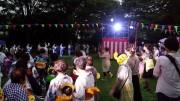 伏見港公園で流しそうめんと盆踊り 伏見伝統の音頭や小唄も