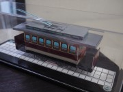 伏見区役所で日本初の電気鉄道「チンチン電車」パネル展 市民らが研究発表