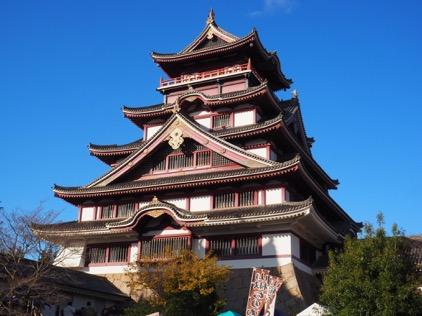 天守閣内部が特別公開された伏見桃山城