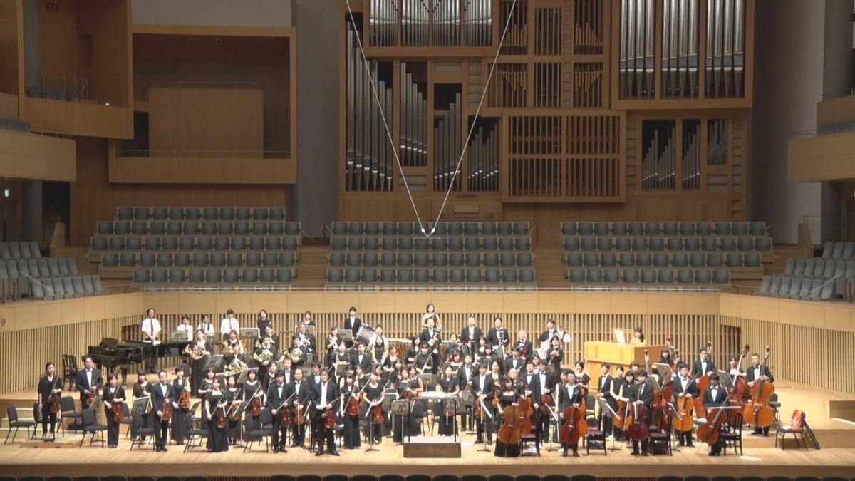 墨染交響楽団の演奏風景