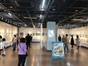 長岡京で鉛筆画家・まきむらゆうこさんアート展 鉛筆画中心に150点展示