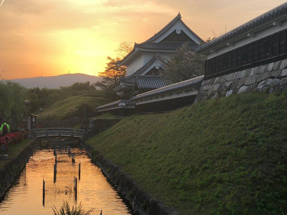 トレパトうぉーくで訪れる「勝竜寺城公園」。細川忠興とガラシャの居城だった城跡
