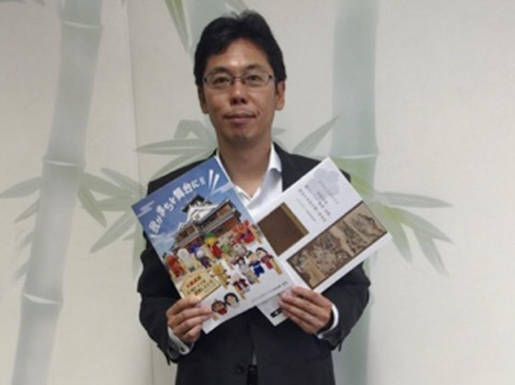NHK大河ドラマ「麒麟がくる」の誘致活動を行った長岡京市の中小路健吾市長
