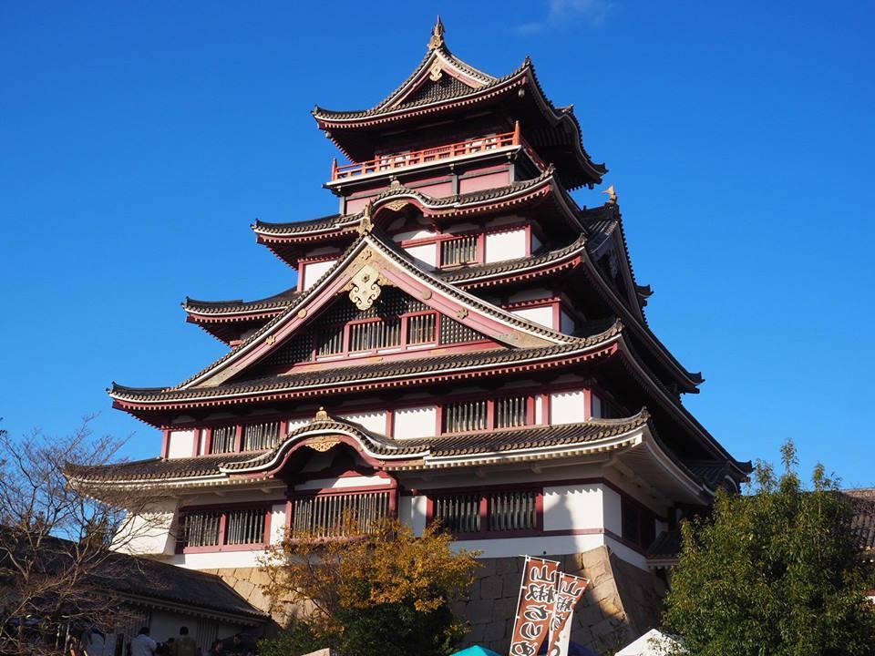 五大老サミットが行われる予定の伏見桃山城