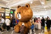 韓国のシンサに「LINE」キャラクター公式グッズ店ー世界最大規模