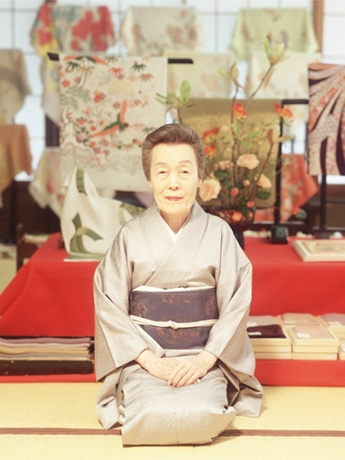 銀座くのや/根本光枝さん©Koichi Inakoshi