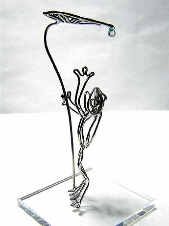 アート 針金
