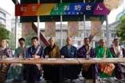 築地本願寺で「東京ボーズコレクション」-8宗派の僧侶が会見