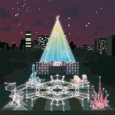 日比谷公園で12月21日から開催する「TOKYO FANTASIA 2007」のイメージ。
