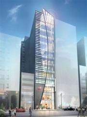 銀座ガスホール跡地に新商業ビル「gCUBE」-H&Mなど8店舗出店