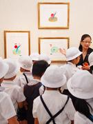 銀座・泰明小学校の児童60人がギャラリー巡り-柳画廊・副社長が企画
