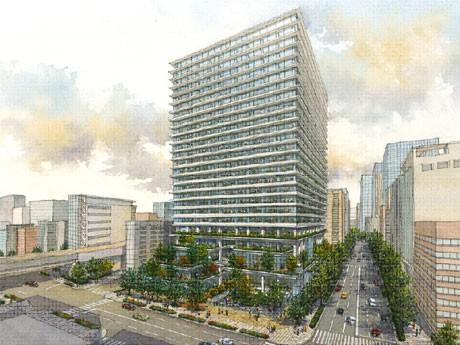 来秋より京橋3丁目で再開発-日本橋・東京駅前へのつながり ...