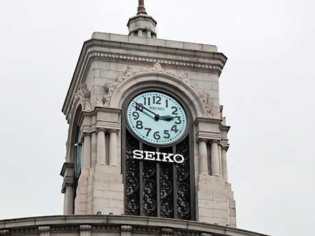 reputable site 4d060 58f78 銀座・和光本館、セイコー旗艦店へ-時計台にも「SEIKO」ロゴ ...