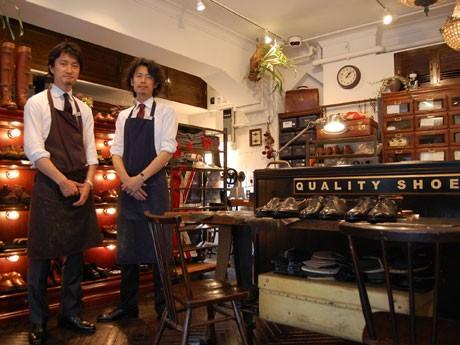 銀座奥野ビルに靴修理「ユニオンワークス」-英トリッカーズの販売も , 銀座経済新聞