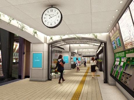 JR有楽町駅銀座口「ルミネストリート」イメージ画像