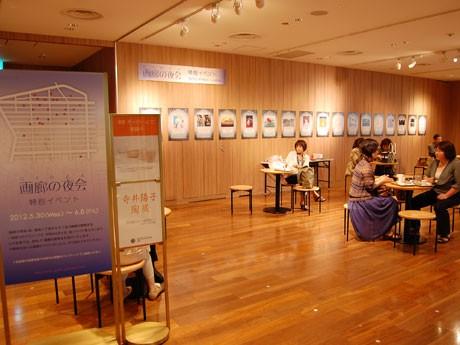 銀座三越9階では現在、参加画廊を紹介する特別展を開催中(6月8日まで)