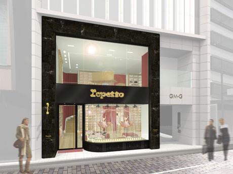 ガス灯通り沿いに開業予定の「レペット銀座店」(画像=イメージ)