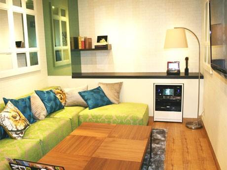 フランフランの家具を備えるレディス専用ルーム