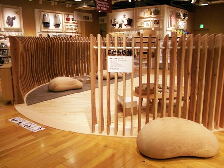 木材を使って「ぬくもりある空間」を目指したキッズスペース