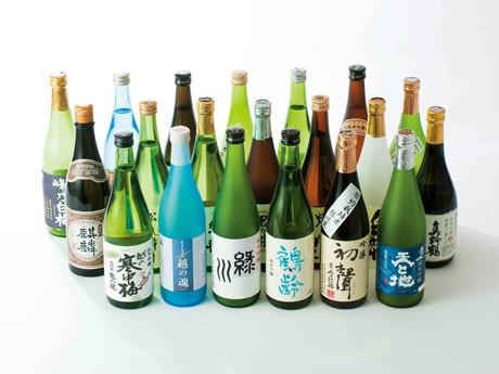 新潟産から91蔵91銘柄の日本酒が一堂に集まる(写真はイメージ)