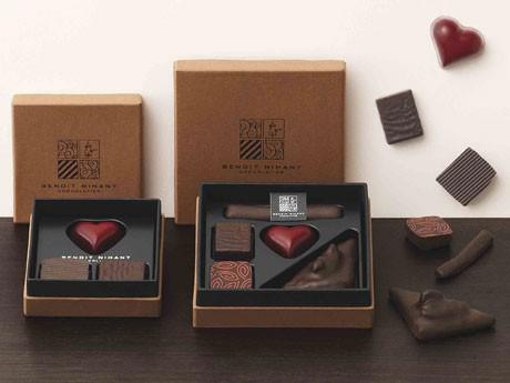 ベルギーショコラ界の新進ブランド「ブノワ・ニアン」が初上陸