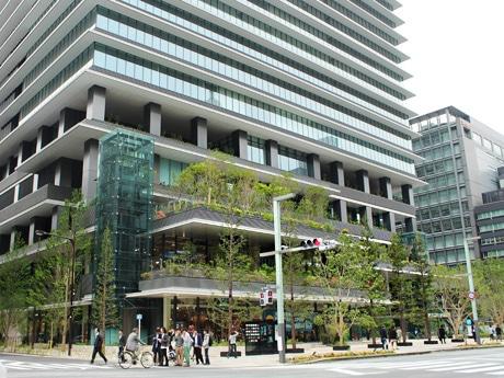 京橋エリアにオープンした大型複合施設「東京スクエアガーデン」