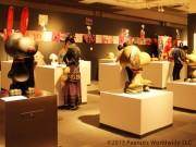 松屋銀座で「スヌーピー×日本の匠展」-伝統工芸作家40人以上参加