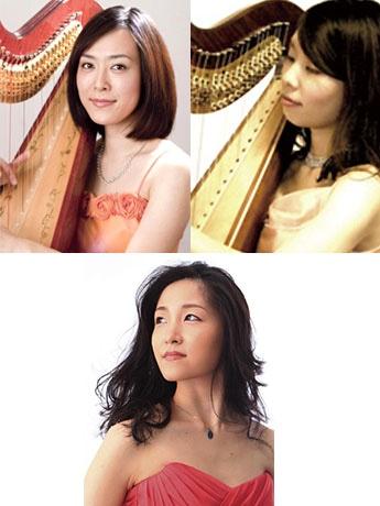 堀米綾さん(上左)、藤田沙弥子さん(上右)、君塚仁子さん(下)